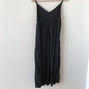 Farm Rio black v neck dress